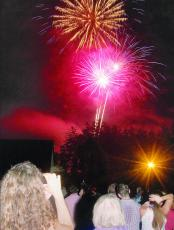 The Fireworks Extravaganza hosted by the Village Green is the highlight of the July 4 celebration in Cashiers for many. This year's show has been cancelled.